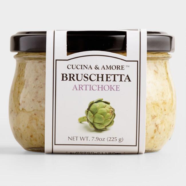 Cucina & Amore Artichoke Bruschetta, Set Of 6 $20.94