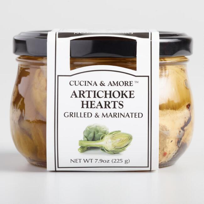 Cucina & Amore Grilled Artichoke Hearts, Set Of 6 $20.94