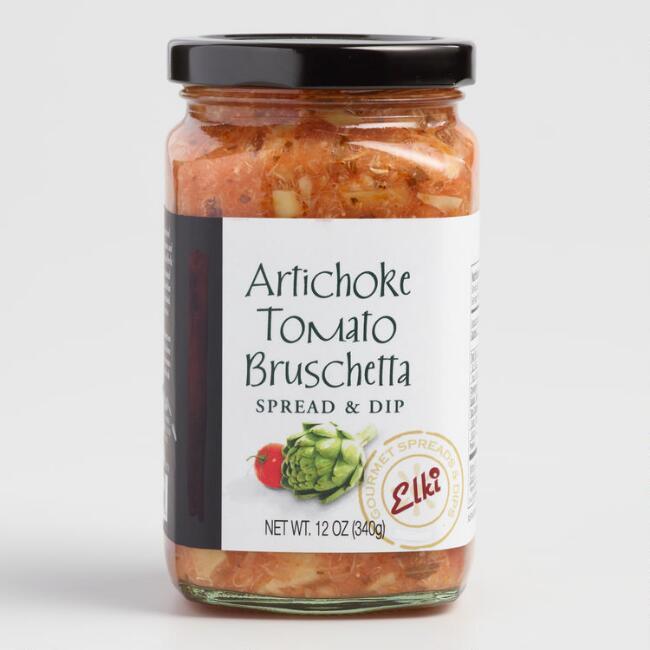 Elki Artichoke Tomato Bruschetta $5.99