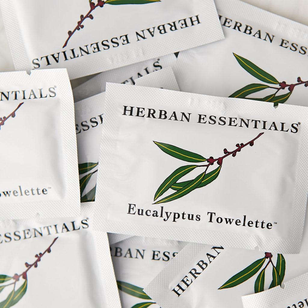 Eucalyptus Towelettes $20.00