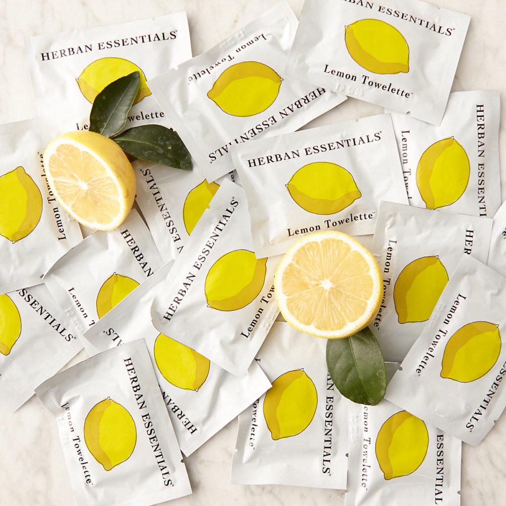 Lemon Towelettes $20.00