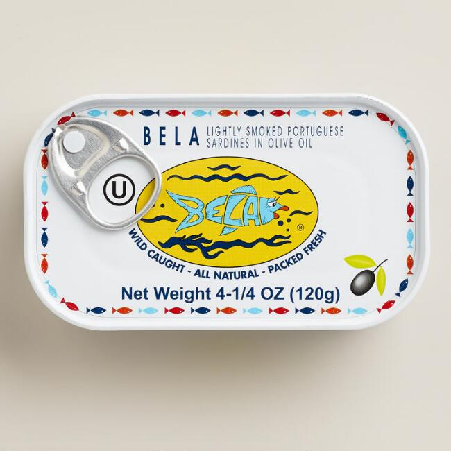 Bela Smoked Sardines In Extra Virgin Olive Oil, Set Of 6 $17.94