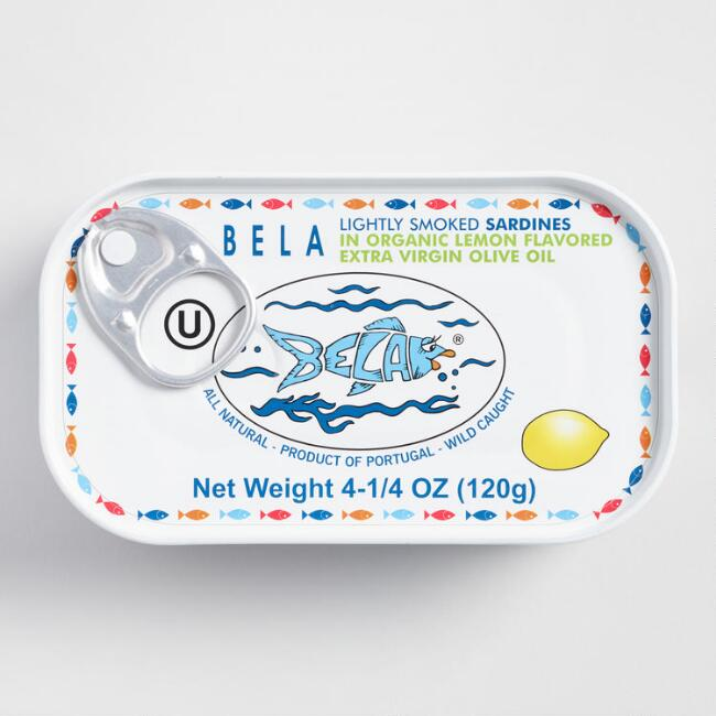Bela Smoked Lemon Sardines, Set Of 6 $17.94