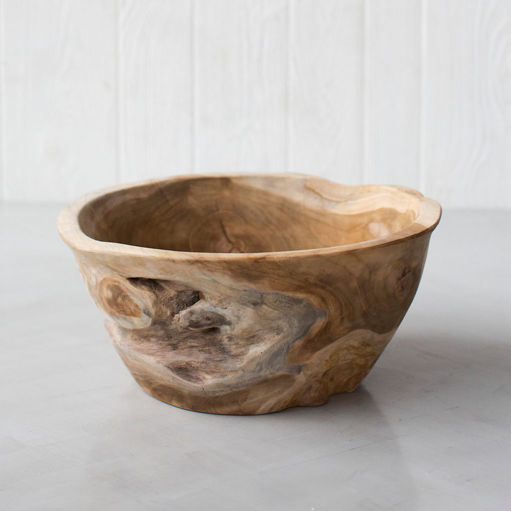 Large Teak Root Serving Bowl $118.00