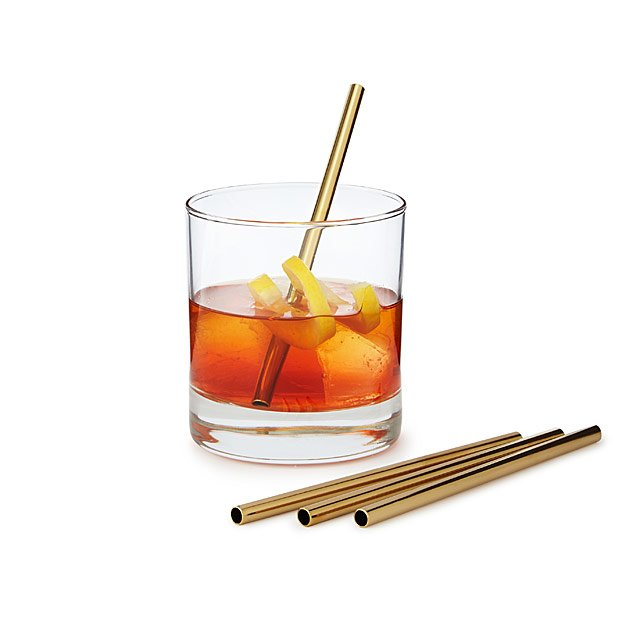 Stainless Steel Cocktail Straws $16.00