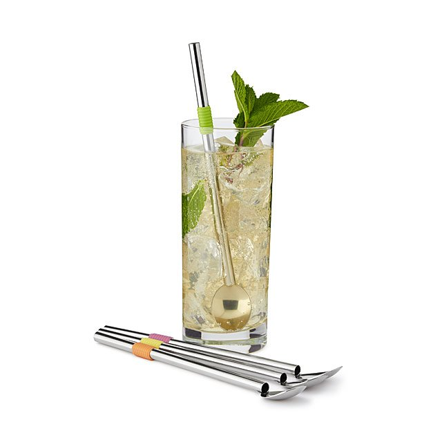 Cocktail Spoon Straws $14.00