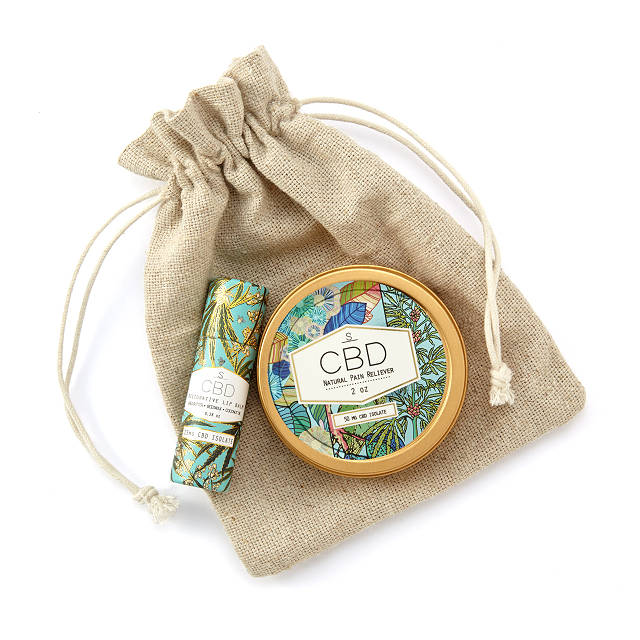 Restorative Hemp Balm Set In Pouch $44.00