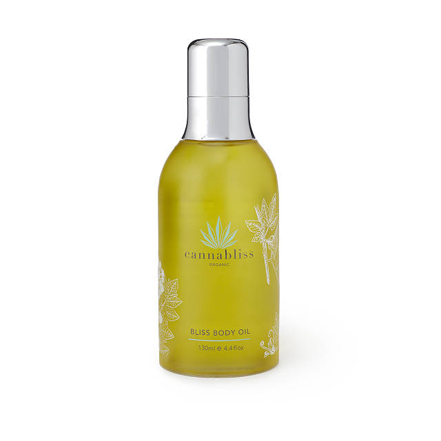 Blissful Hemp Body Oil $34.99