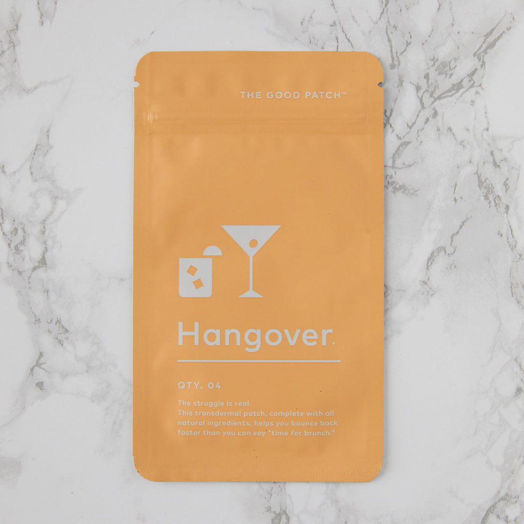 Hangover Relief Patch $12.00