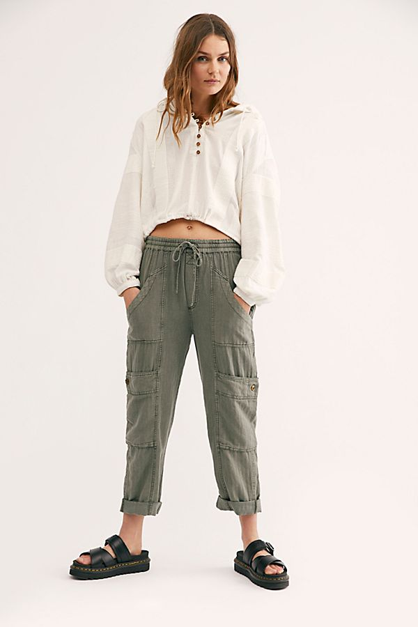 Feelin' Good Utility Pull-On Pants $128.00