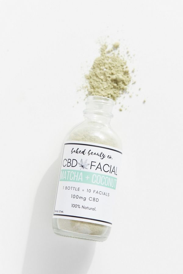 Baked Beauty Co. CBD Facial Clay Face Mask $14.99