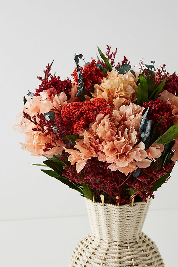 Dried Hydrangea Bouquet $58.00