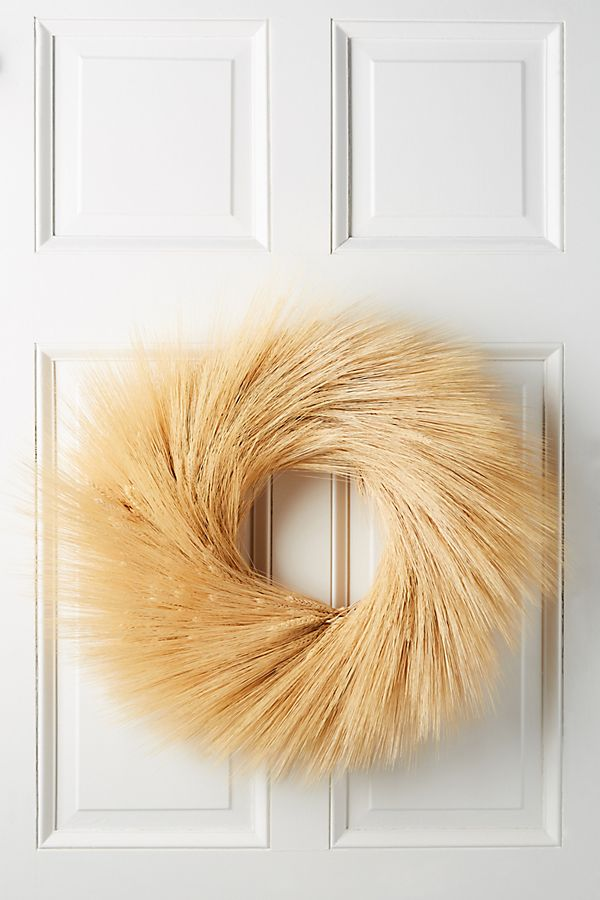 Wheat Bundle Wreath $118.00