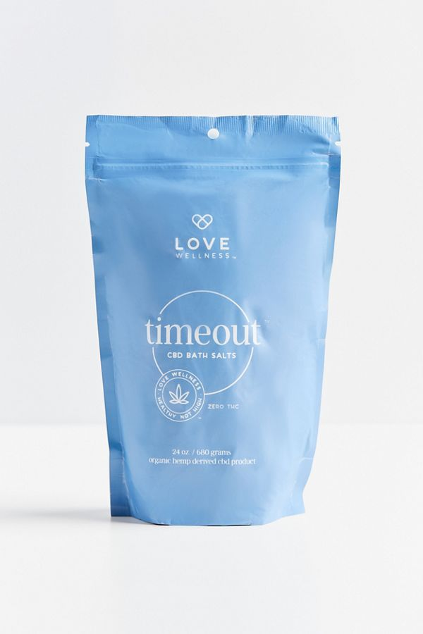 Love Wellness Timeout CBD Bath Salt $30.00