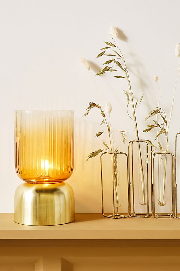 Uma Fluted Glass Lamp $68.00