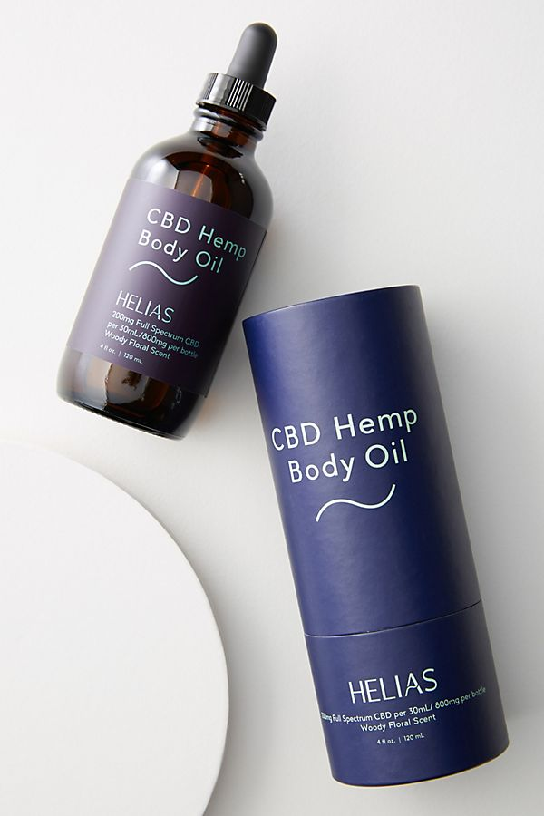 HELIAS CBD Hemp Body Oil $70.00