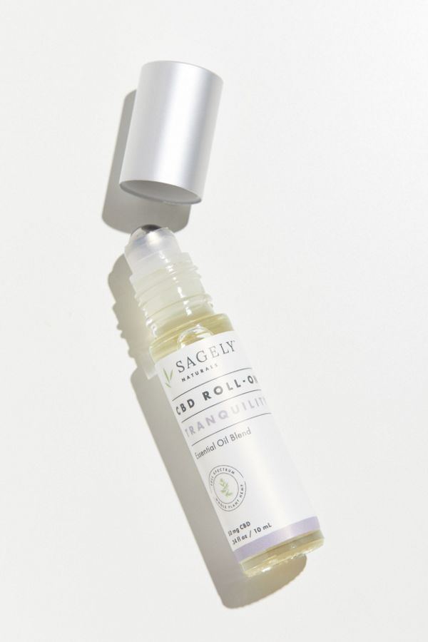 Sagely Naturals Tranquility CBD Roll-On Oil $30.00
