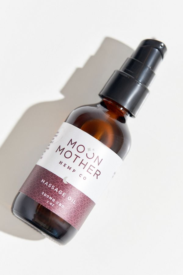 Moon Mother Hemp Company CBD Massage Oil $60.00