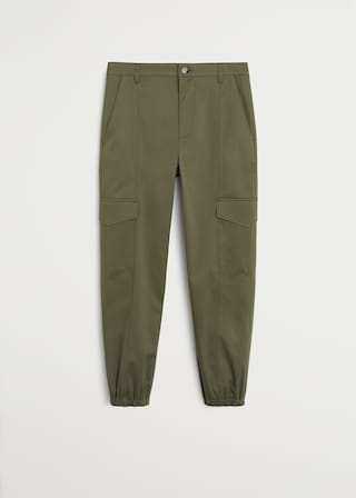 Cotton cargo trousers $79.99