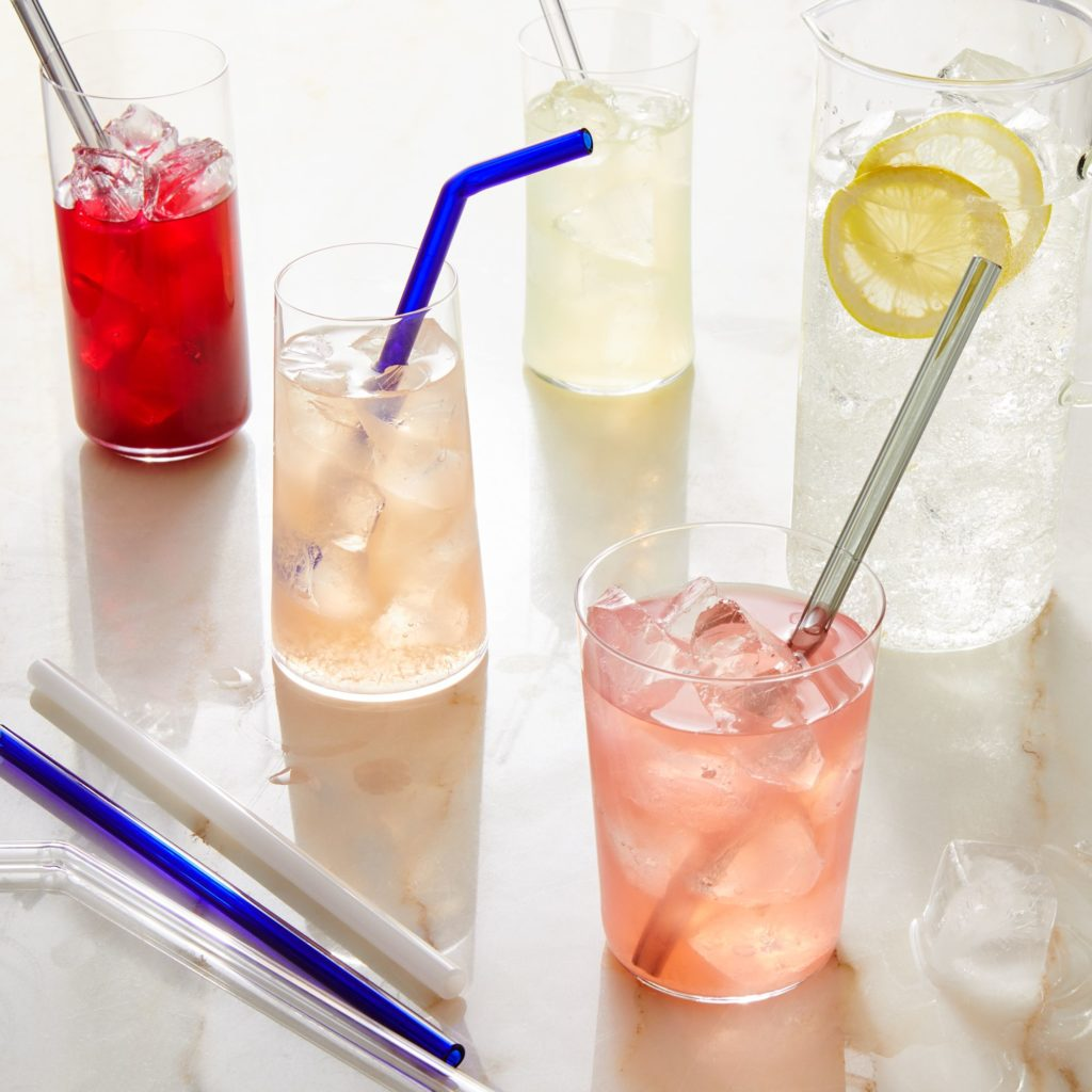 Glass Straws (Set of 4) $36–$39