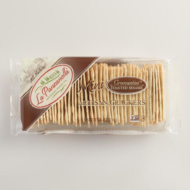La Panzanella Sesame Croccantini Crackers $3.99