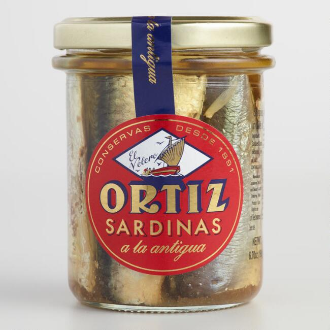 Ortiz Sardines In Extra Virgin Olive Oil $5.99