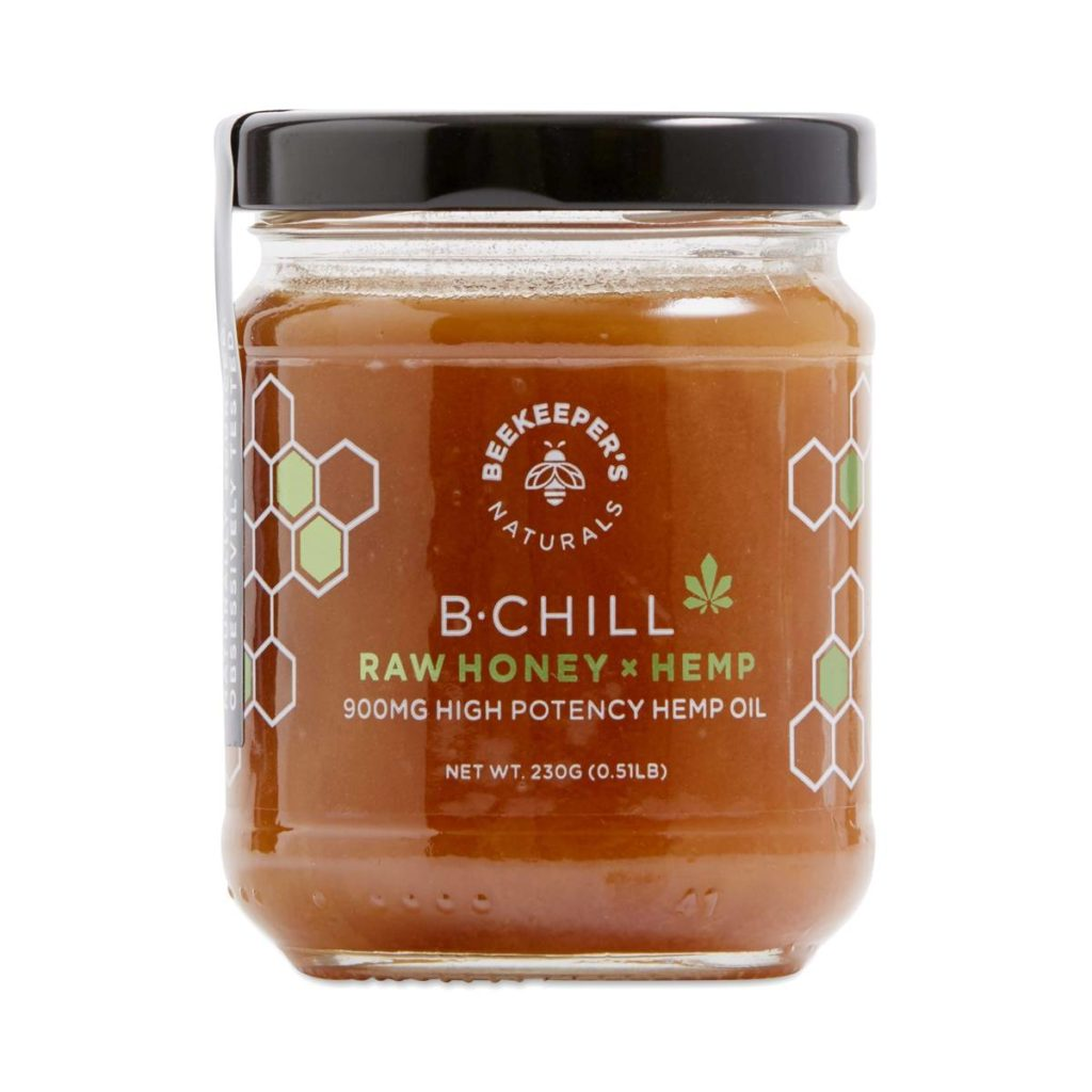 Beekeeper's Naturals B.Chill Hemp Raw Honey $79.99