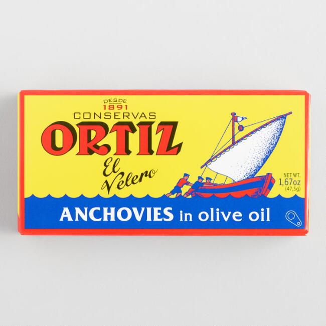 Ortiz Anchovies In Olive Oil $4.19