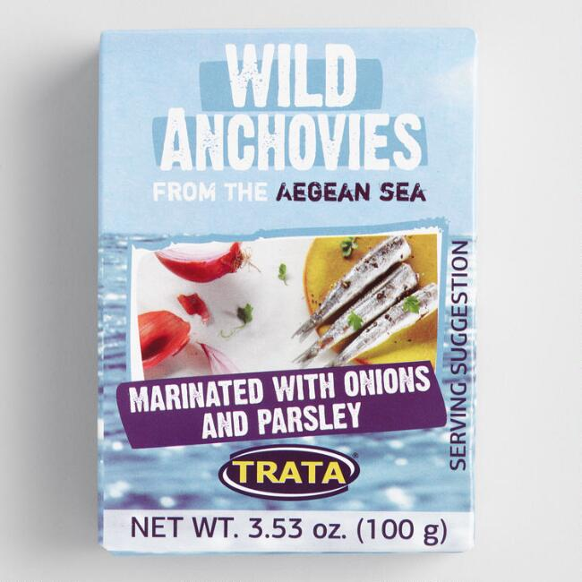 Trata Anchovies Marinated With Onion And Parsley Set Of 8 $23.92