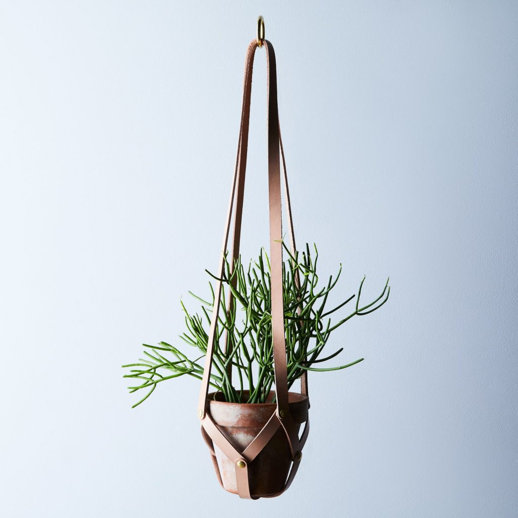 Leather Plant Hanger $80–$120