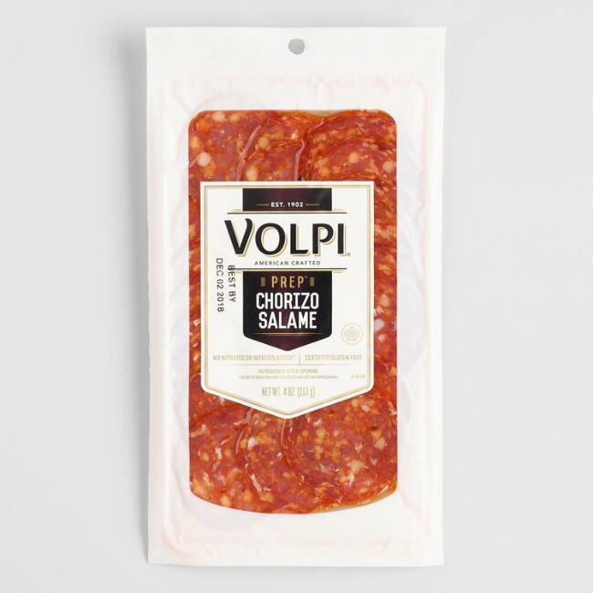 Volpi Prep Sliced Chorizo Salame $3.99