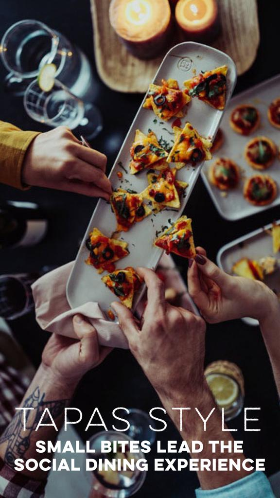 THE TAPAS SOCIAL...THE NEW DINING EXPERIENCE