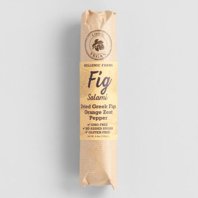 Hellenic Farms Vegan Fig Salami With Orange Zest And Pepper $6.29