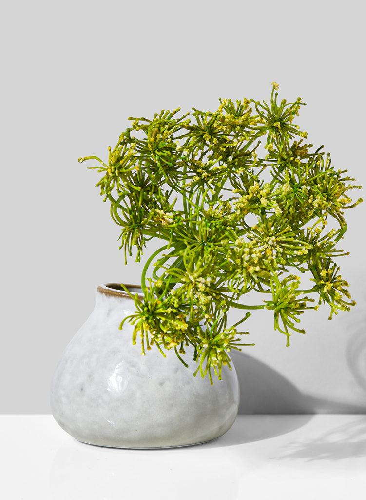 Mini Glazed Ceramic Bud Vase, Set of 4 $18.00