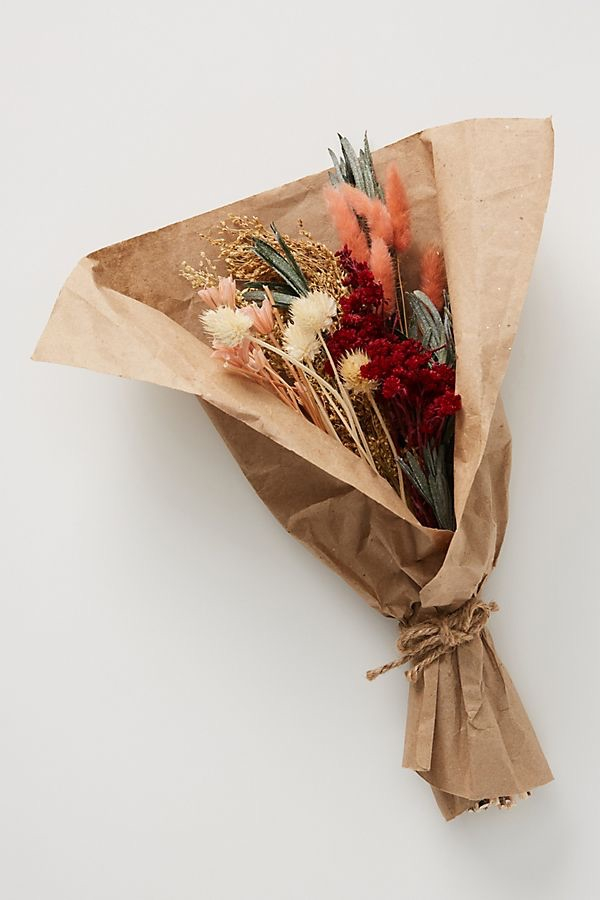 Dried Pink Bouquet $28.00