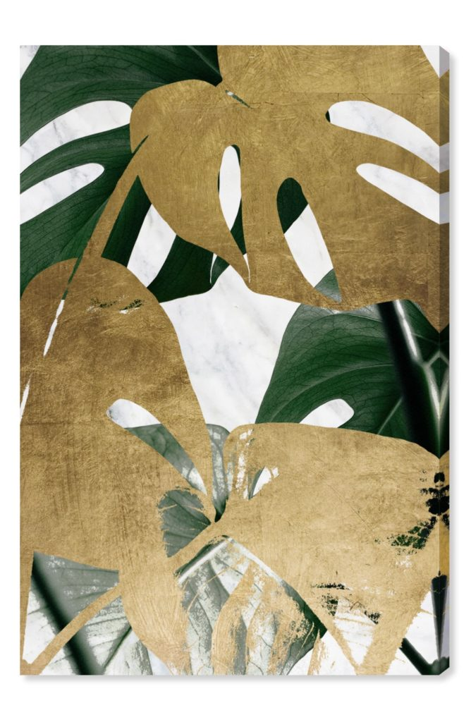 Plants Canvas Wall Art, Main, color, GREEN Golden Plants Canvas Wall Art OLIVER GAL $100.00–$525.00