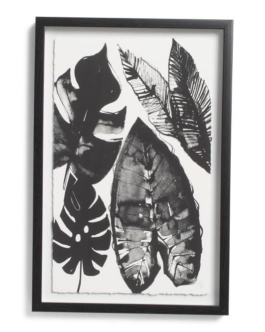 MARMONT HILL INC 12x18 Leaf Framed Wall Art $19.99