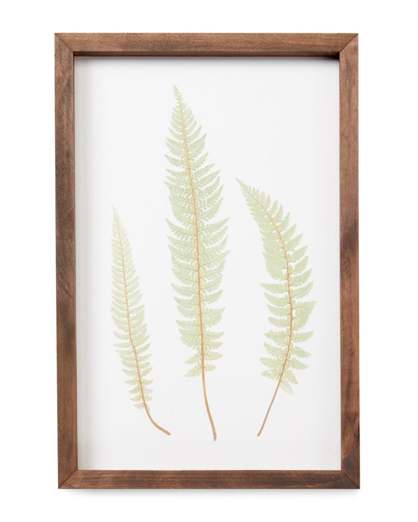 Green Leaf Trio Wall Art $14.99