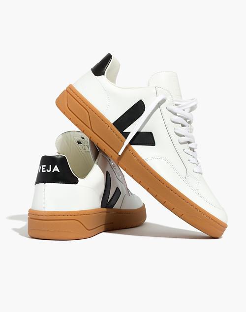 VEJA Men's V-12 Leather Low-Top Sneakers $150.00