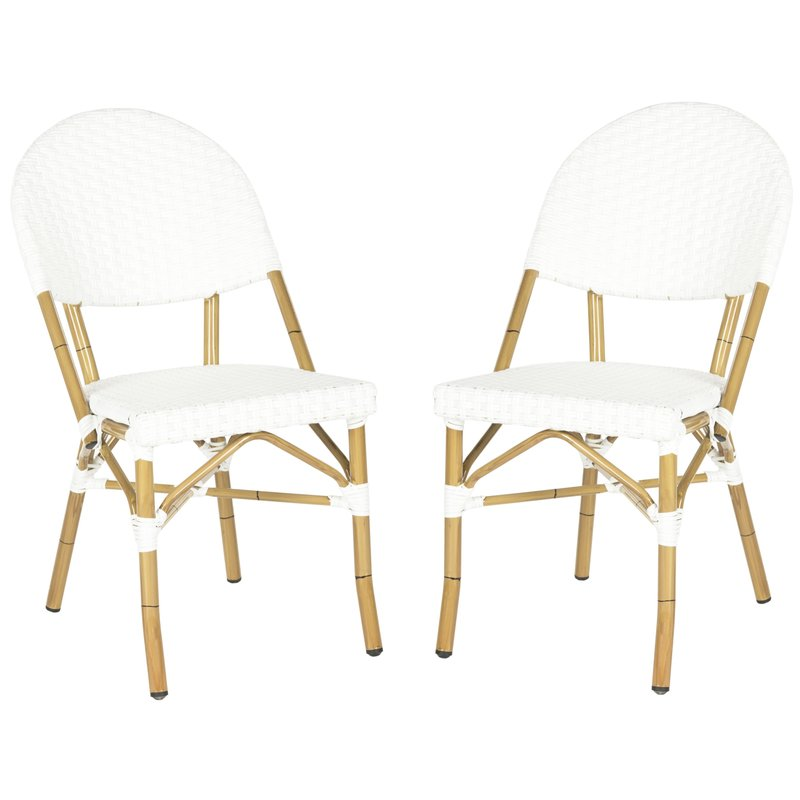 Nergizli Stacking Patio Dining Chair $196.99