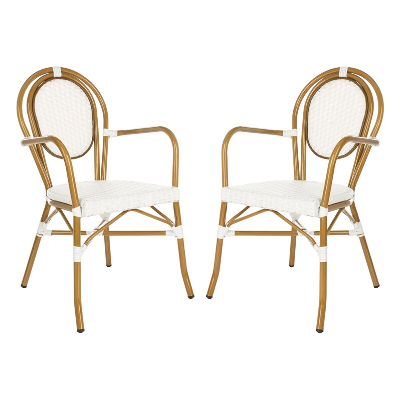 Rahul Stacking Patio Dining Chair $239.99