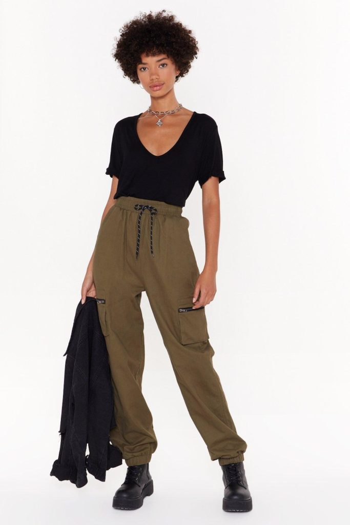 Drawstring in Close Cargo Pants $30.00