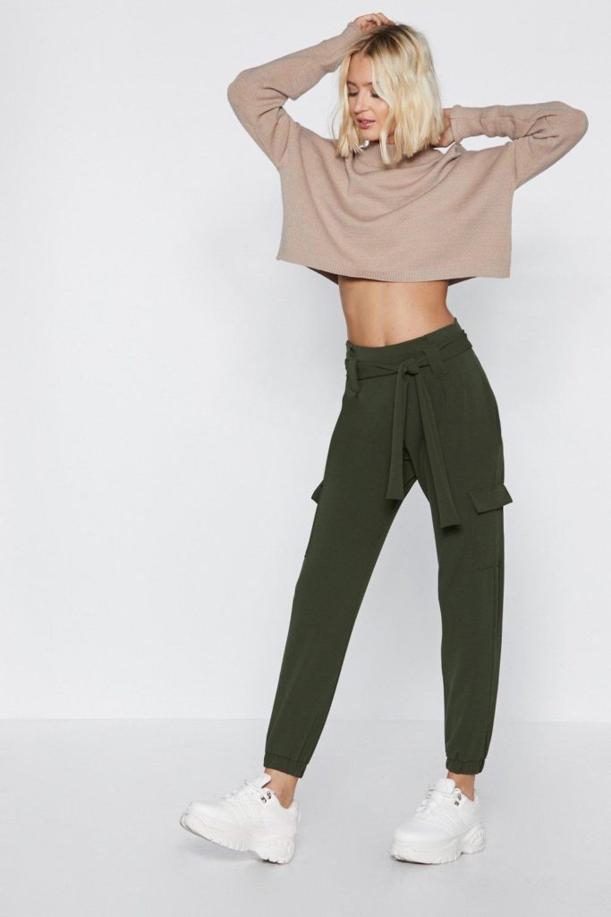Cargo the Distance High-Waisted Pants $25.00
