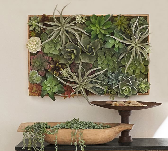 SUCCULENT WALL, GREEN - LARGE $239
