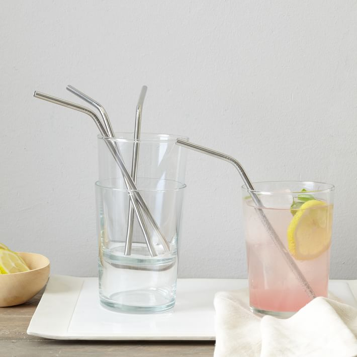 Metal Bendy Straw, Individual $3.00