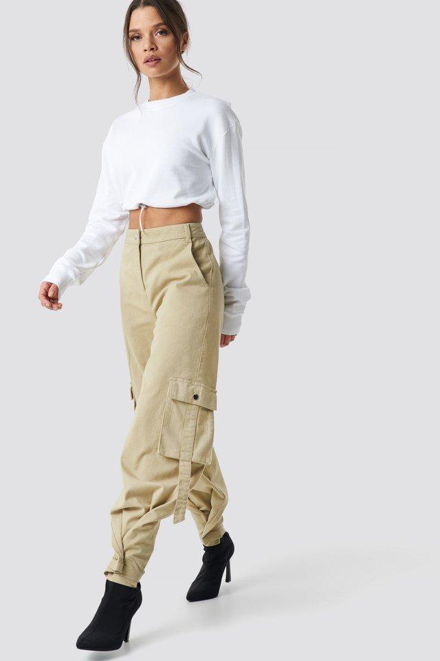 Cargo Pants Beige $59.95