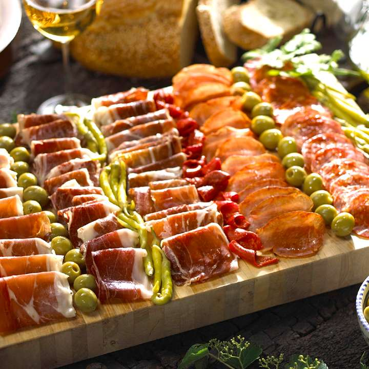 Cured Meats of Spain Sampler Taste Why Spain is Famous for Its Hams and Sausages $114.95