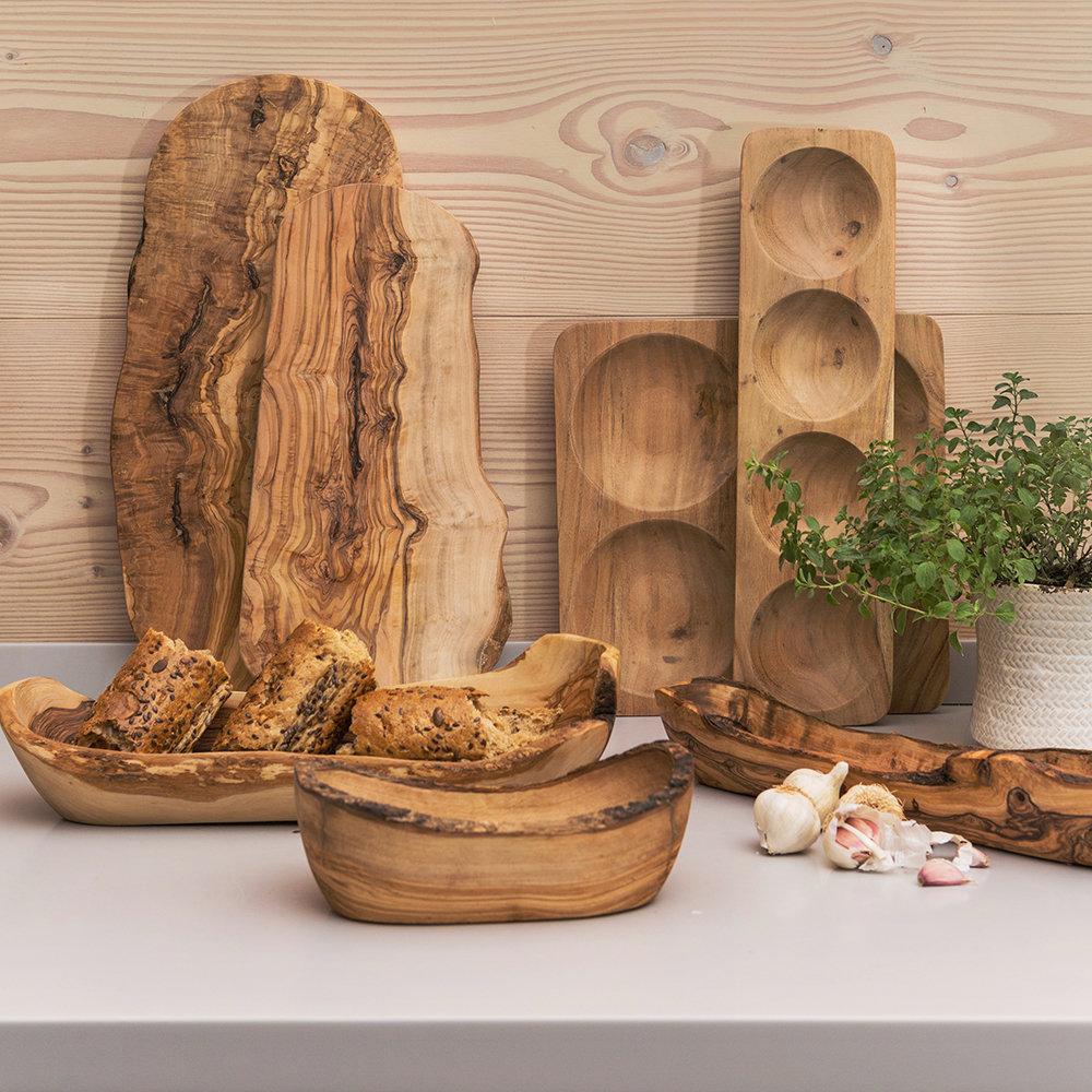Rustic Wood Serving Board - Large $54.00