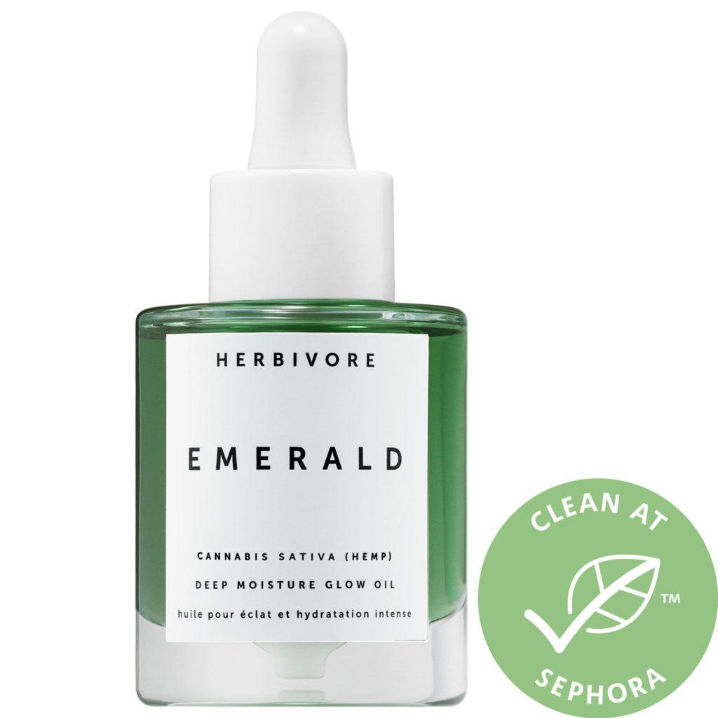 HERBIVORE Emerald Hemp Seed Deep Moisture Glow Oil $48.00