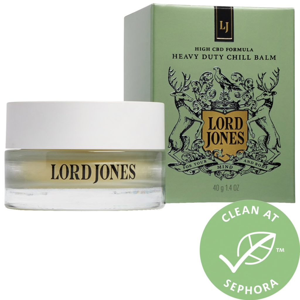 LORD JONES CBD Formula Heavy Duty Chill Balm $75.00